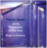 Blaige & Company | Plastics News 2018 processor of the year.