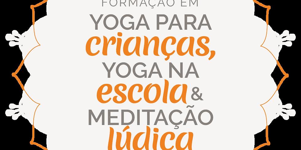 Curso Online Yoga para Crianças, nas Escolas e Meditação Lúdica