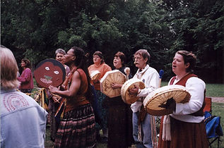 Ladies Drumming.JPG