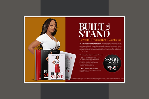 Built To Stand:Personal Development Worshop