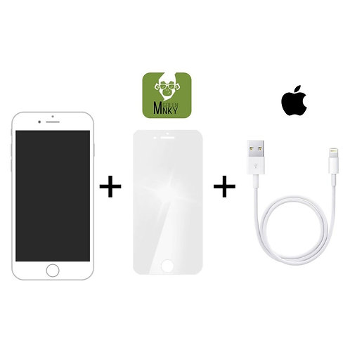 iPhone 6 Displayreparatur inkl. Green MNKY Schutzfolie, Apple Lightnin
