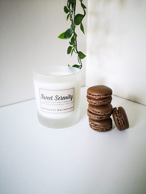 Chocolate Macaroons Candle