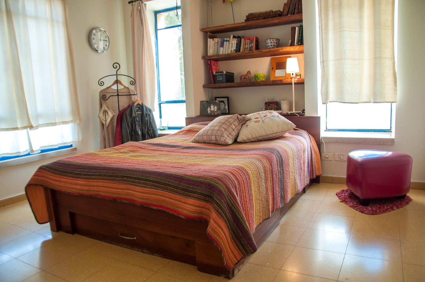 חדר השינה- בית בשרון