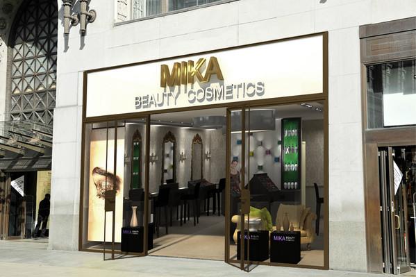 חנות קוסמטיקה- מבט מבחוץ