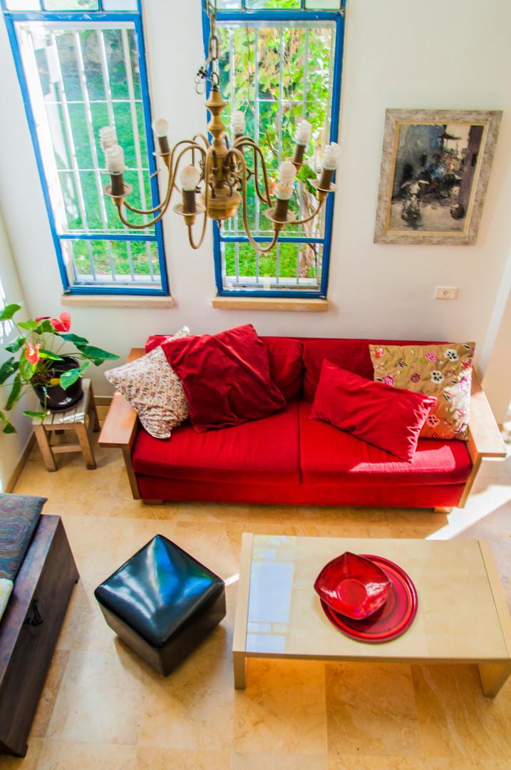 ספה אדומה בלי להתבייש...