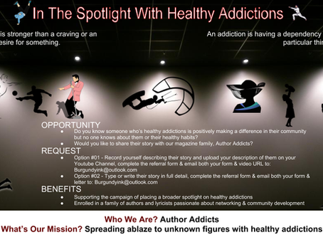 In The Spotlight With Healthy Addictions