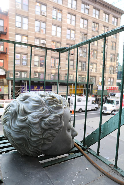 Reclaim Her (Installation View), Maria Duran Sampedro, 24EBroadway, photographed by Alexander Si