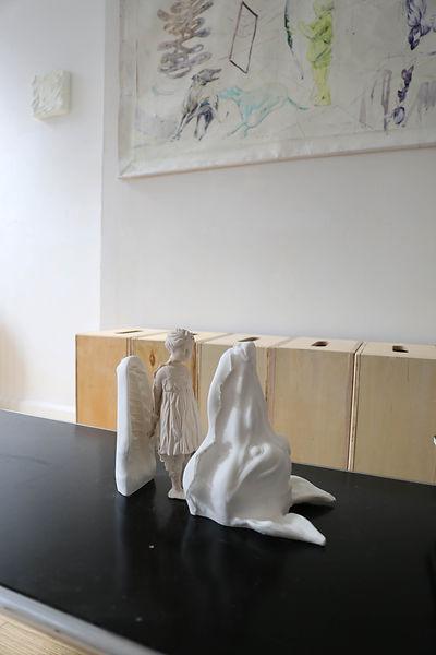 Maria Duran Sampedro, Reclaim Her (Installation view at 24EBroadway). Courtesy of Maria Duran Sampedro, Alexander Si (Photographer), and 24EBroadway.