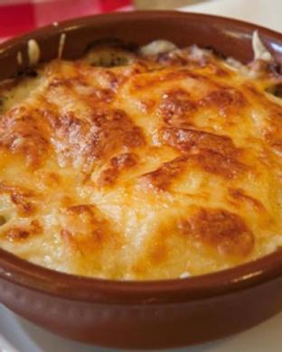 raviolis à la crème d'ail