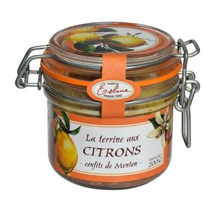 Terrine aux Citrons confits