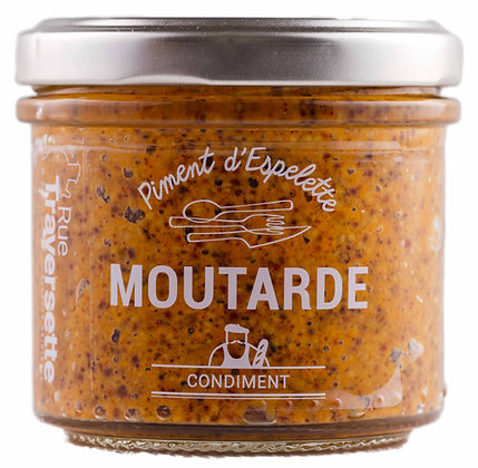 Moutarde - Piment d'Espelette