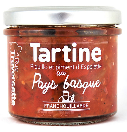 Tartine au Pays Basque