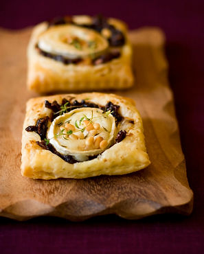 recette tartine oignon chevre
