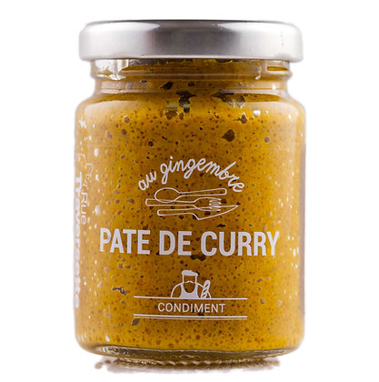 Pâte de Curry - au gingembre
