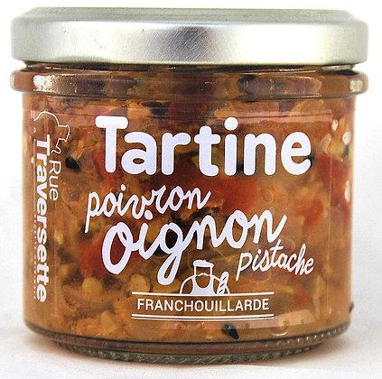 Oignon - poivron & pistache