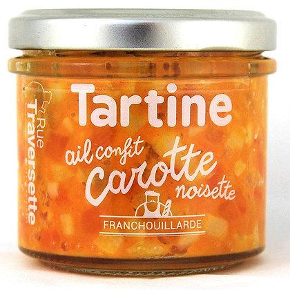Ail confit - carotte & noisette