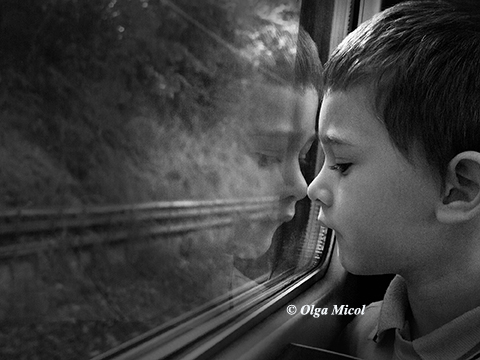 Philip the 1st day's on the train
