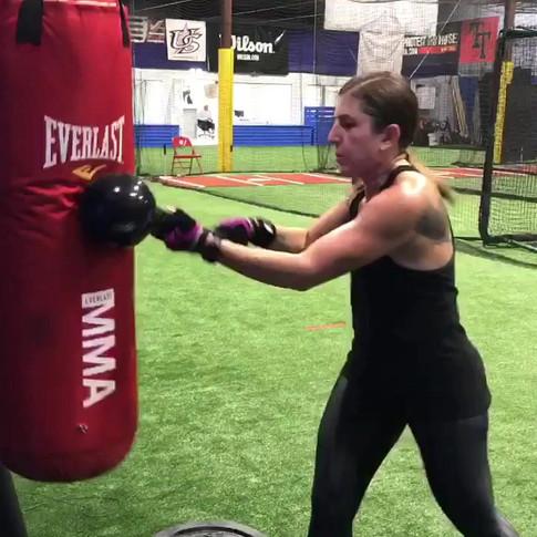 Founder Melissa Pranzo swings an RMT Club!