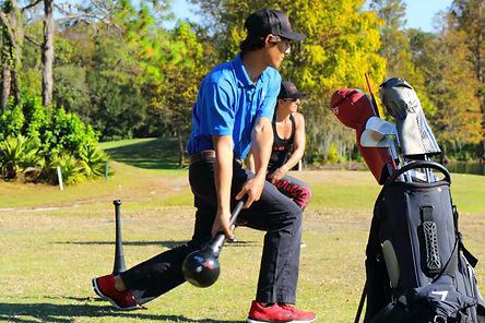 SwingFitt for Golf in action