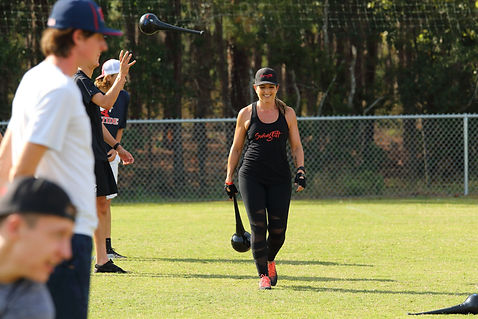 Melissa Pranzo SwingFitt training