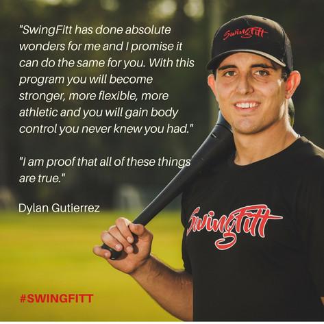 Dylan Gutierrez on SwingFitt