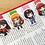 Thumbnail: Persona girls magnetic bookmarks (Futaba, Chidori, Yukiko, Ohya)