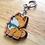 Thumbnail: Shiba Inu rainbow acrylic keychain
