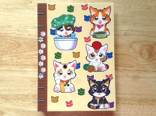 Matte Cat Journal (A6/A5 size)
