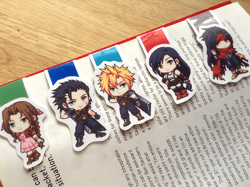 FF7 magnetic bookmarks