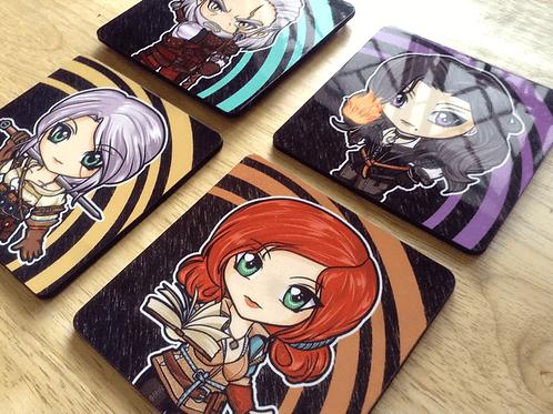 Witcher 3 Mug Coasters