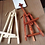 Thumbnail: 1/12 Miniature Adjustable Easel with Canvas