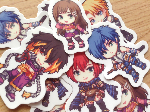 Star Ocean 3 Stickers