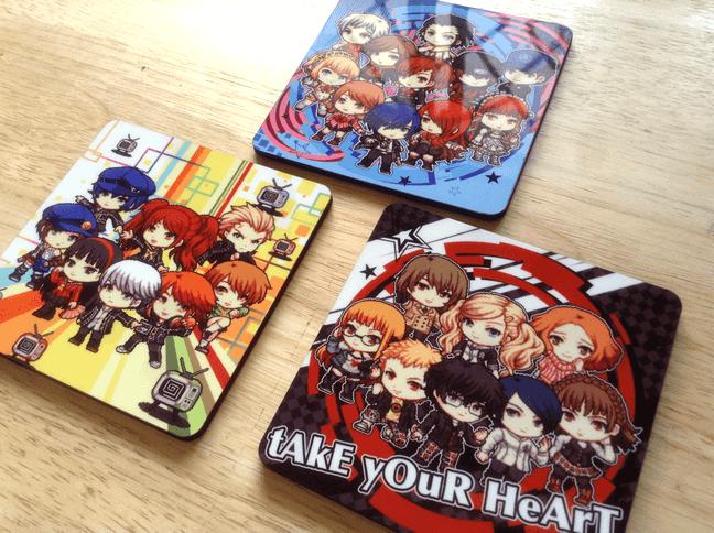 Persona Mug Coasters
