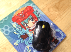 .hack mousepad