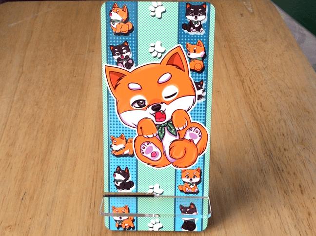 Shiba Inu Phone Stand Holder