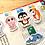 Thumbnail: Sea animal magnetic bookmarks