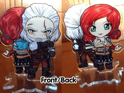 Witcher 3 Acrylic Stand - Geralt x Triss