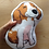 Thumbnail: Dog Pillow (Dacshund,beagle, piebald)