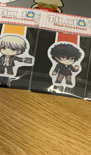 Persona magnetic bookmarks
