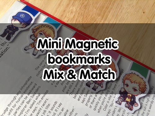 Magnetic bookmarks Mix and Match