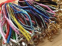 Elastic mobile phone straps