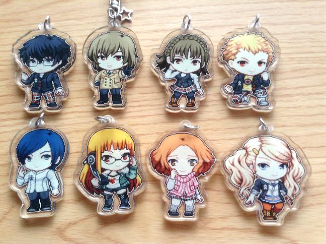 Persona 5 Acrylic keychains