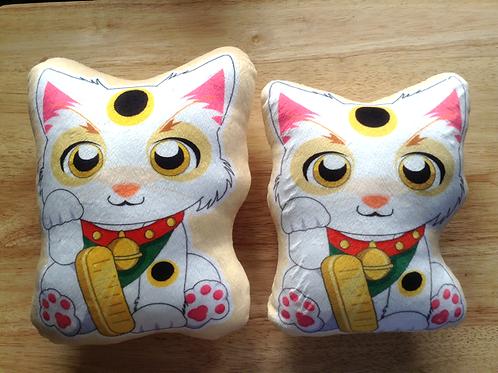 Lucky Cat Pillow, Maneki Neko Pillow