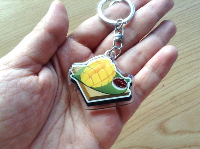 Filipino Food acrylic keychains