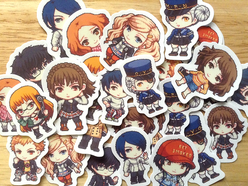 Persona 5 Stickers (Heroes set/ Confidante set)