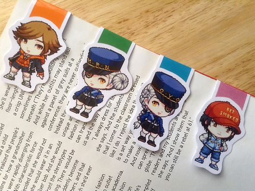 Persona kids magnetic bookmarks