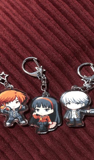 Persona 4 acrylic keychains