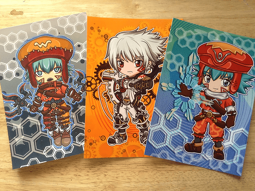 .hack Prints (Kite, Azure Kite, Haseo)