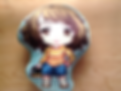 Sadayo plush pillow