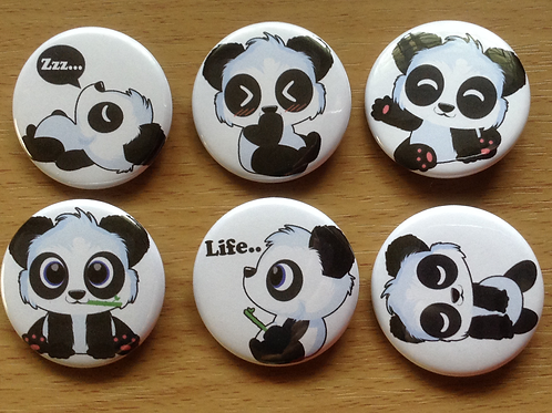 Panda button pins